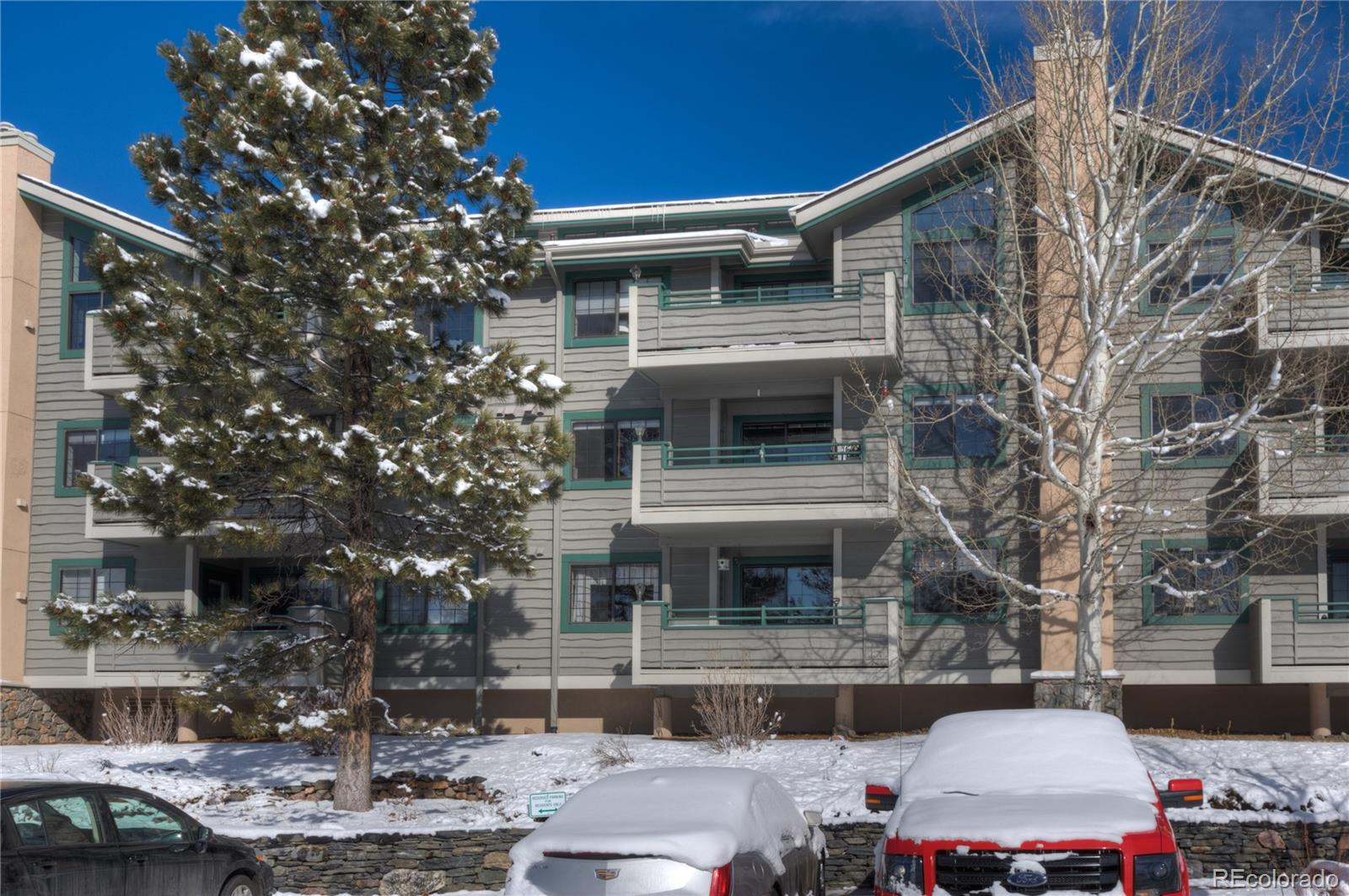 MLS# 8781176 - 31719 Rocky Village Drive #208, Evergreen, CO 80439