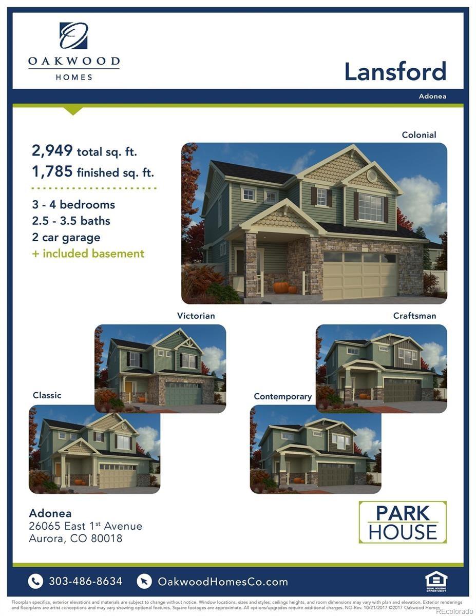 MLS# 9501157 - 3 - 110 S Oak Hill Way, Aurora, CO 80018