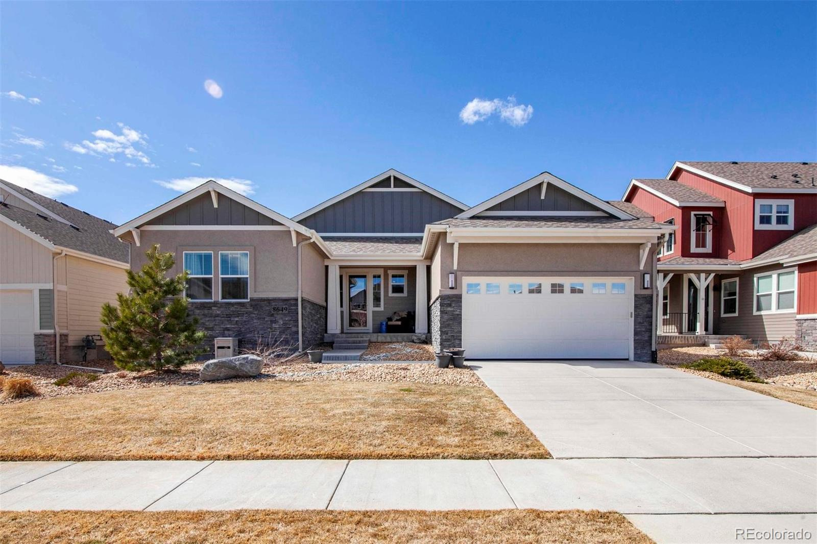 MLS# 9941099 - 8649 Windy Street, Arvada, CO 80007