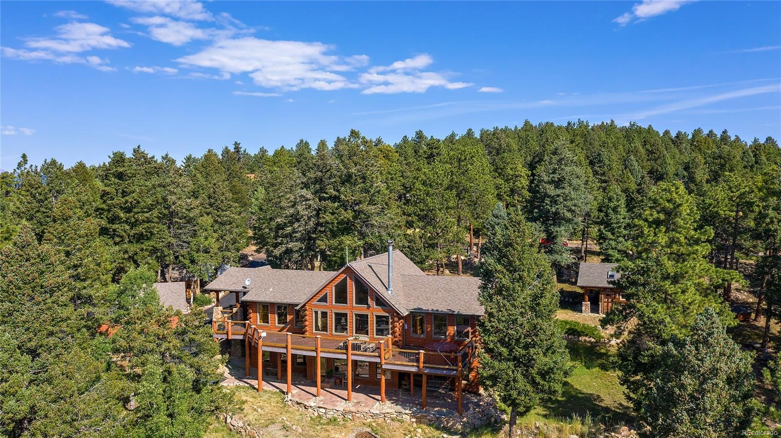 MLS# 1581293 - 1 - 13472 Riley Peak Road, Conifer, CO 80433