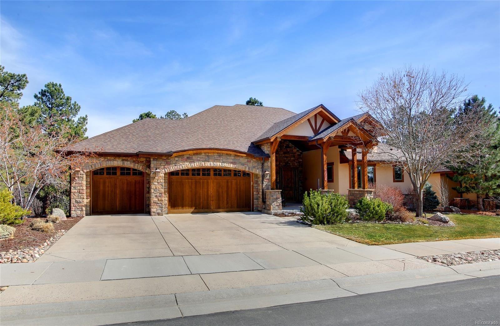MLS# 4879945 - 1 - 2392 Saddleback Drive, Castle Rock, CO 80104