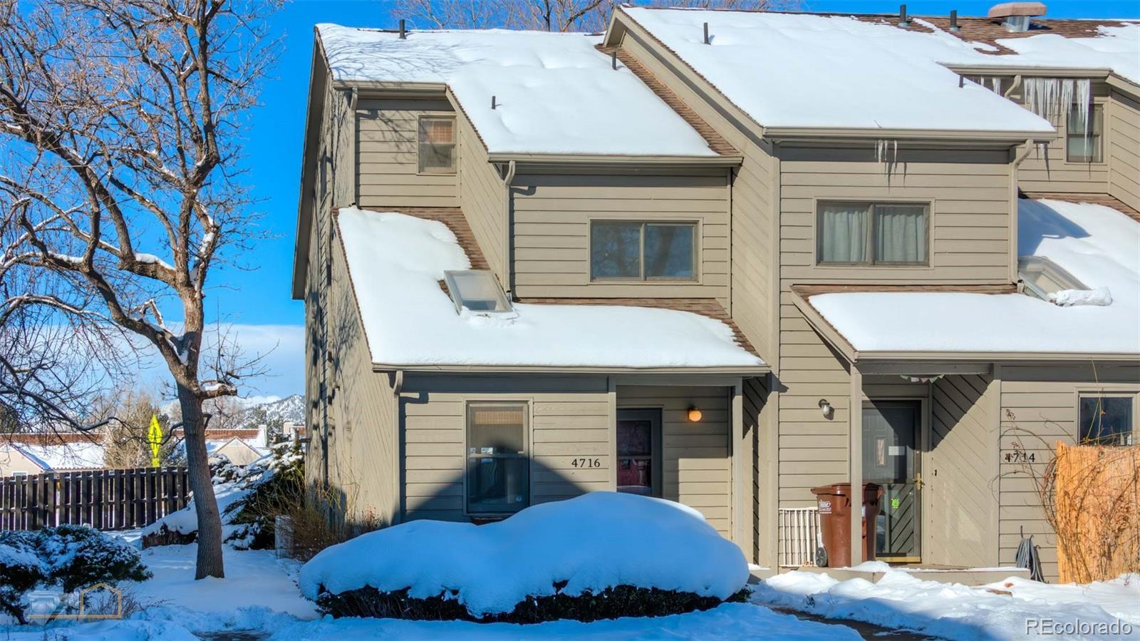 MLS# 5289239 - 1 - 4716 Edison Lane, Boulder, CO 80301