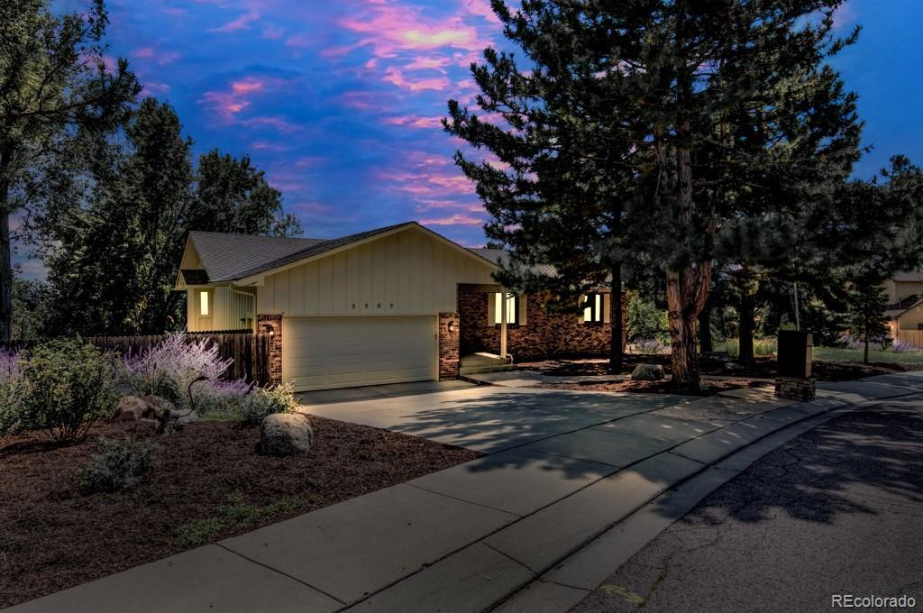 MLS# 5539974 - 1 - 5505 Saddle Rock Place, Colorado Springs, CO 80918