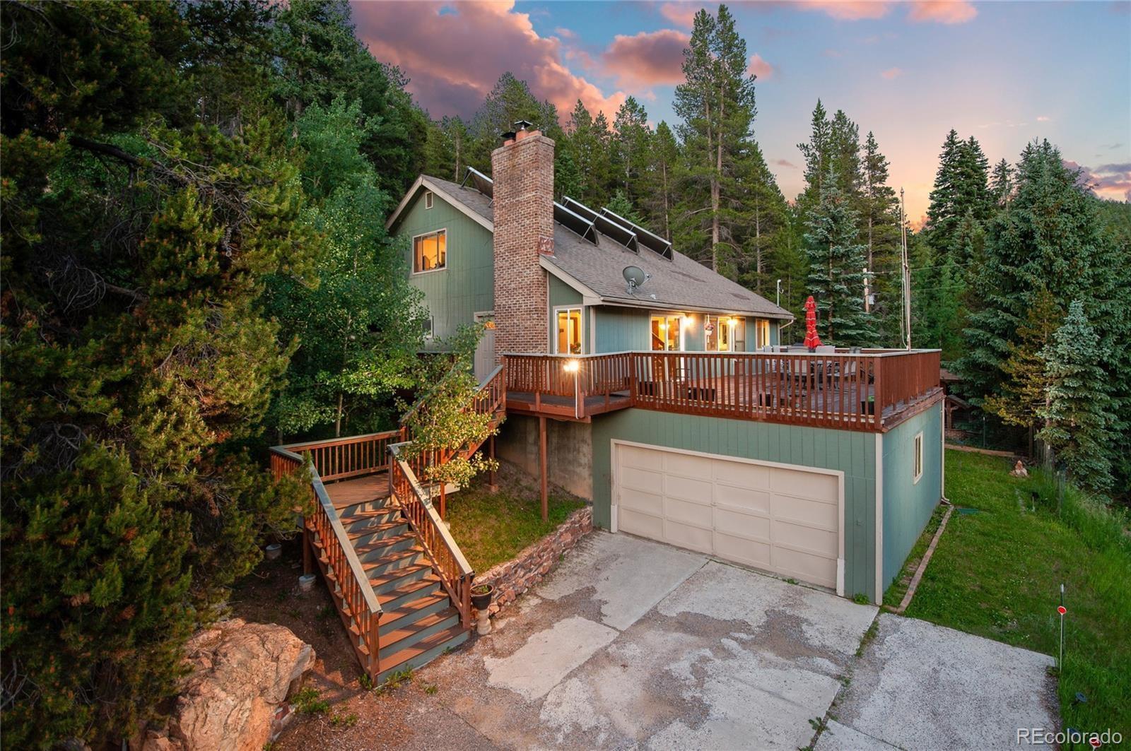 MLS# 5887293 - 1 - 8858 Black Mountain Drive, Conifer, CO 80433