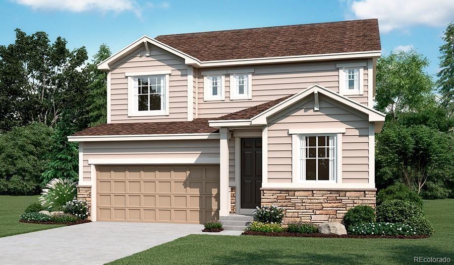 MLS# 6600740 - 1 - 989 White Leaf Circle, Castle Rock, CO 80108