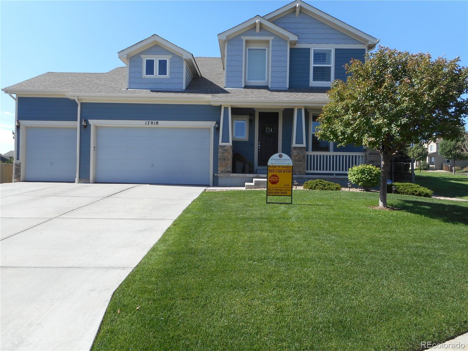 MLS# 6882809 - 1 - 17018 Golden Poppy Lane, Parker, CO 80134