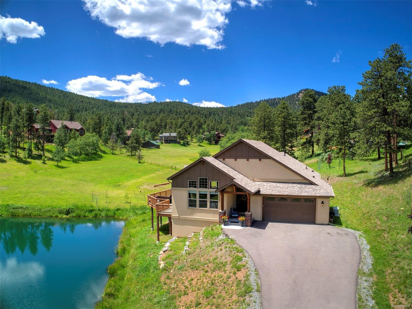 MLS# 7168913 - 1 - 6451 Mohave Trail, Evergreen, CO 80439