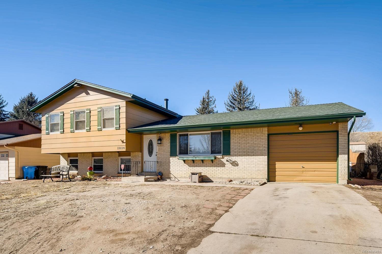 MLS# 7589558 - 1 - 1814  Wooten Road, Colorado Springs, CO 80915