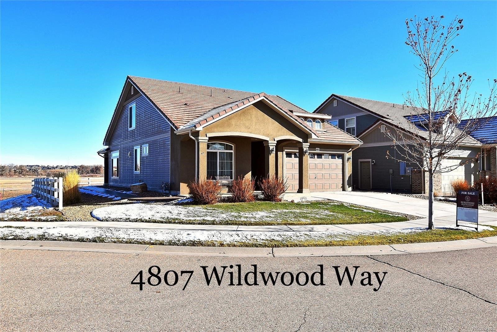 MLS# 7651824 - 1 - 4807  Wildwood Way, Johnstown, CO 80534