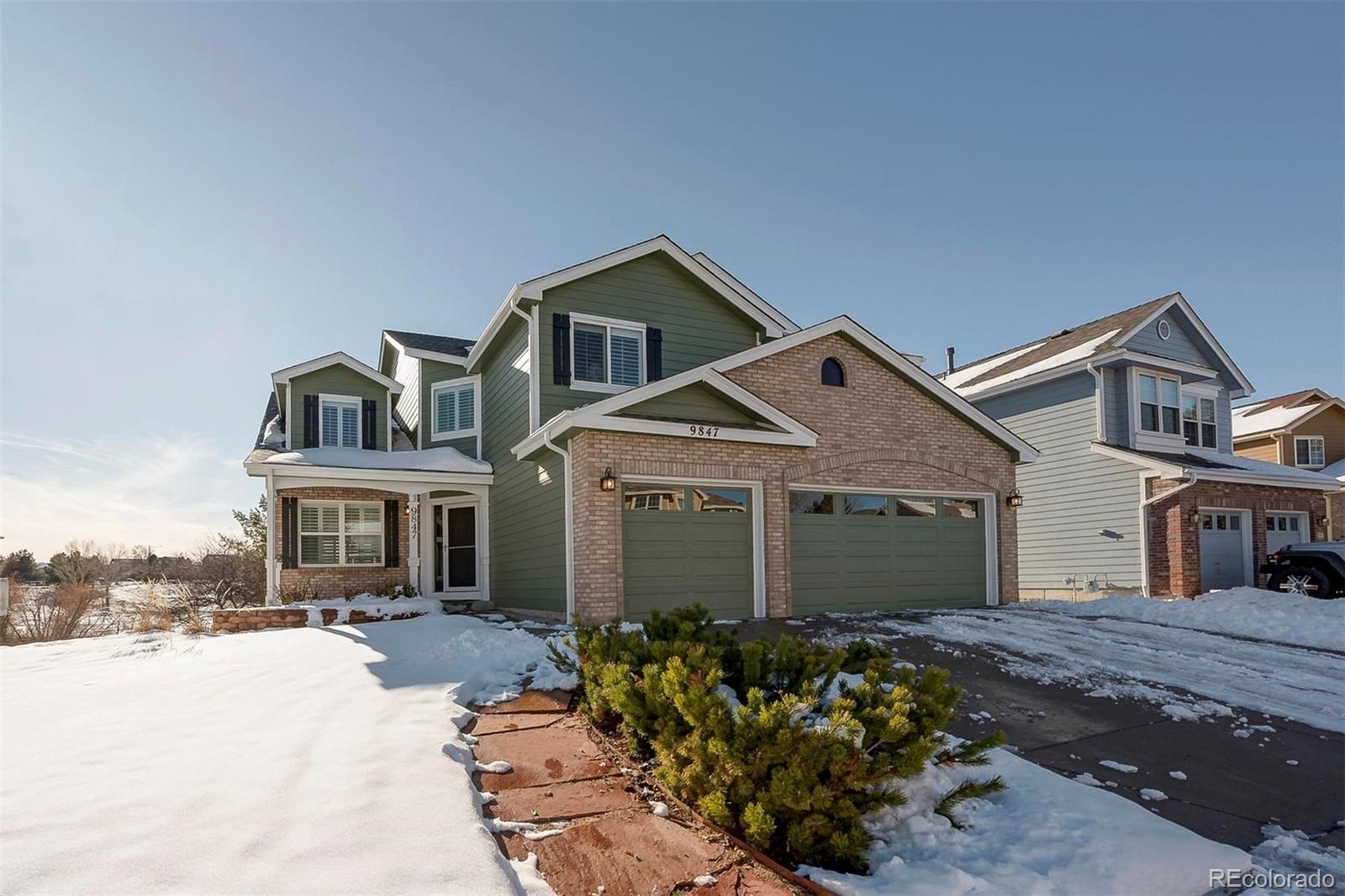 MLS# 8018796 - 9847 Spring Hill Lane, Highlands Ranch, CO 80129