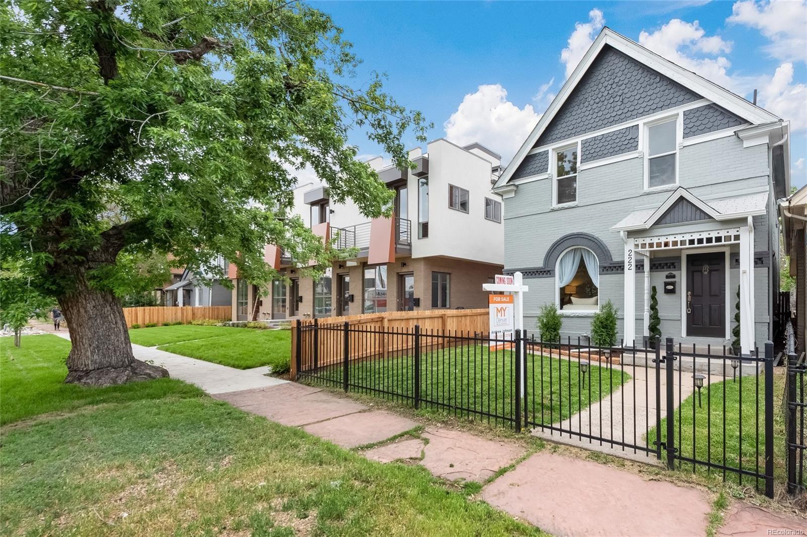 MLS# 8164329 - 1 - 222  Inca Street, Denver, CO 80223