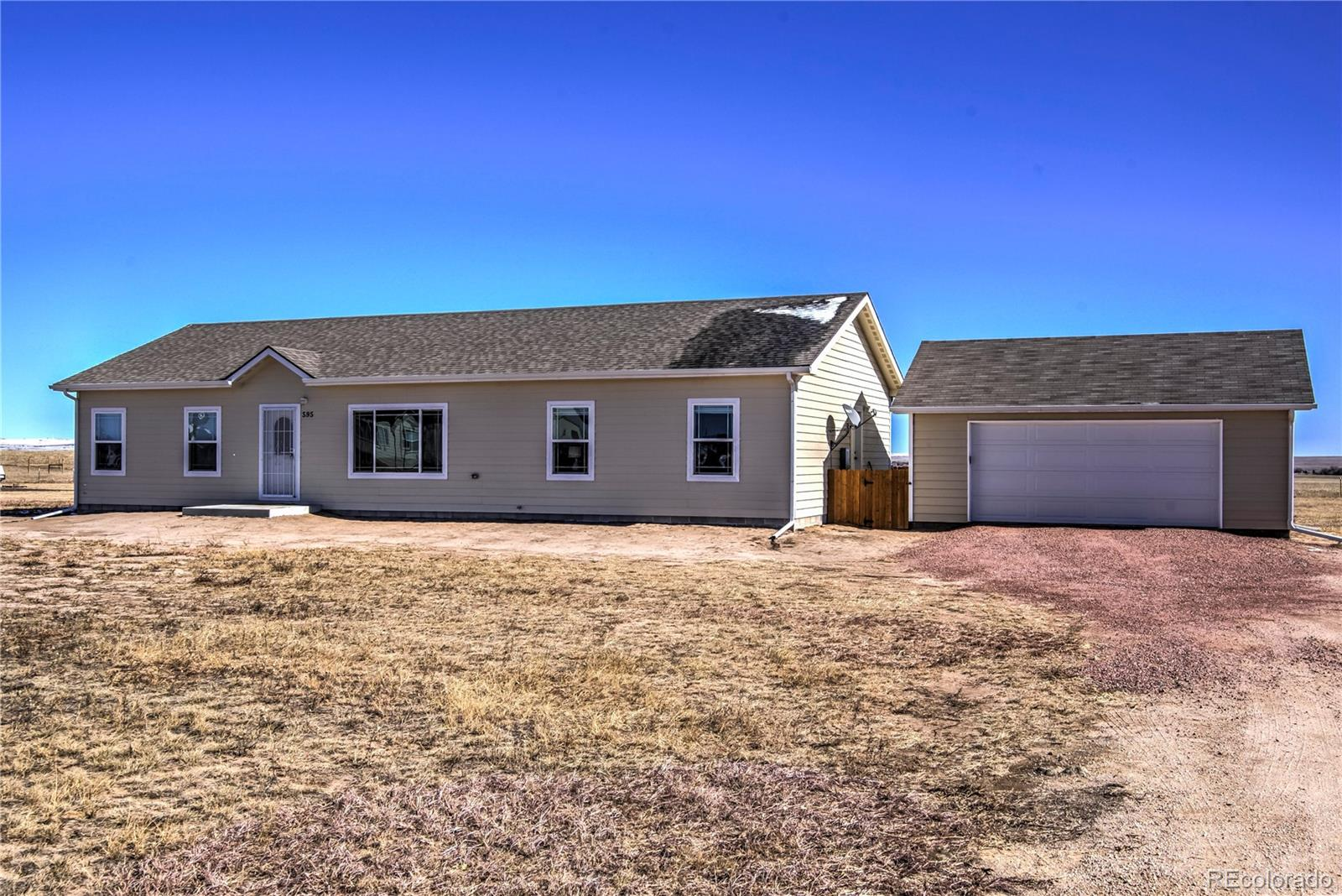 MLS# 8441040 - 1 - 595 Spotted Owl Way, Calhan, CO 80808