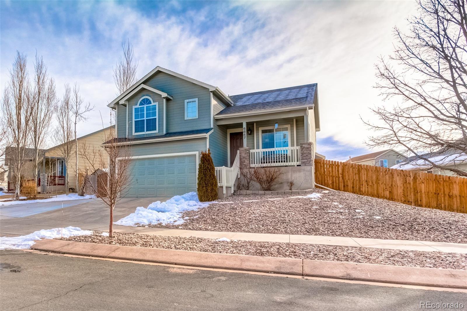 MLS# 8611656 - 1 - 6847 Lost Springs Drive, Colorado Springs, CO 80923