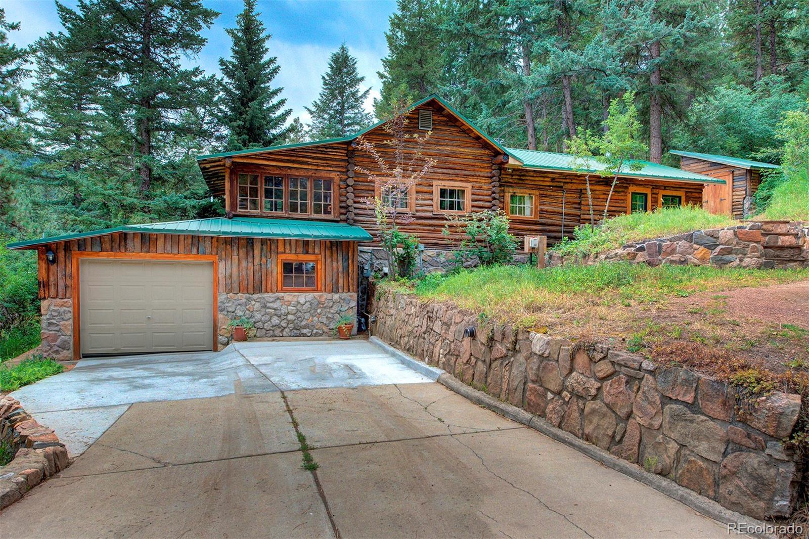 MLS# 8680626 - 1 - 5742 Santa Clara Road, Indian Hills, CO 80454