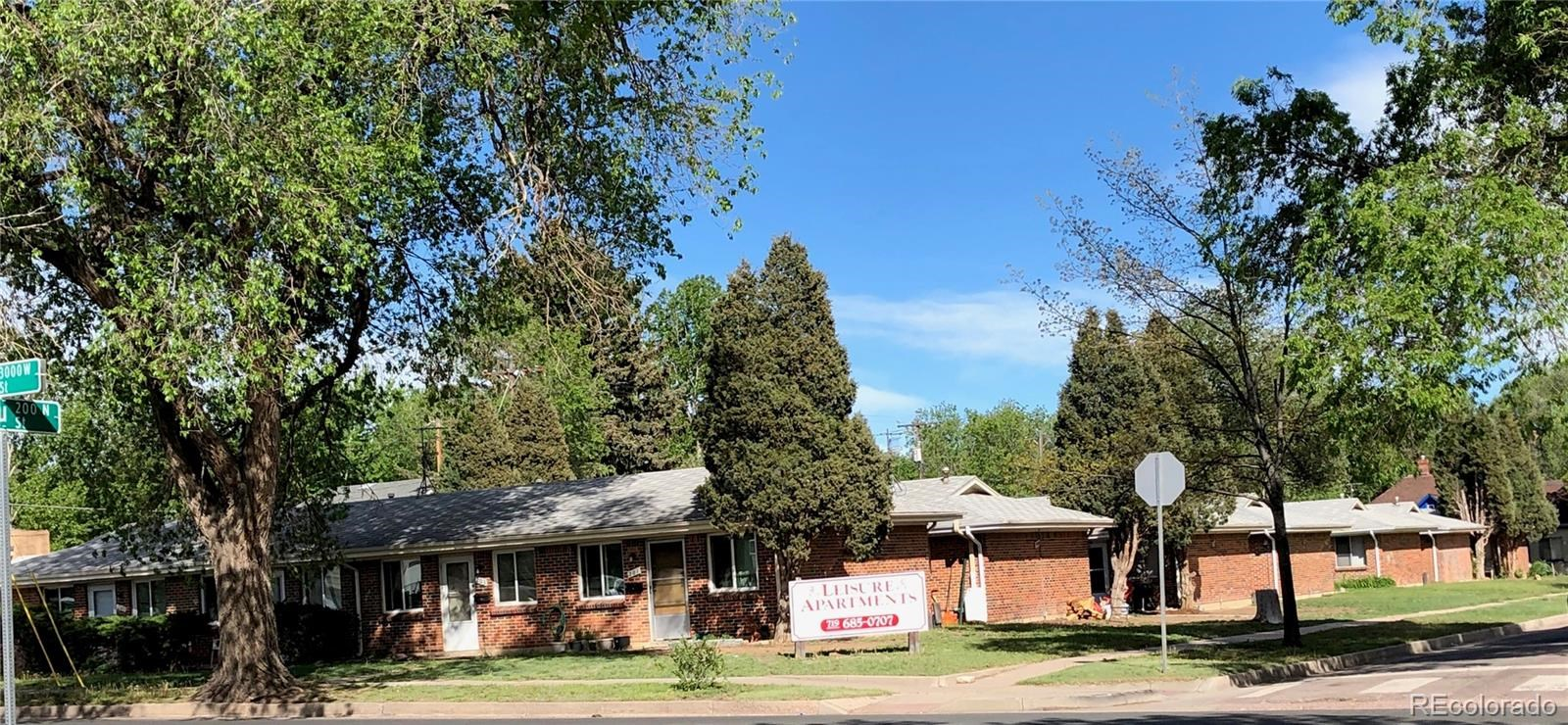 MLS# 9625602 - 1 - 2916  W Bijou Street, Colorado Springs, CO 80904