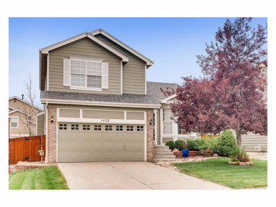 1153 Mulberry Lane, Highlands Ranch, CO 80129 - MLS#: 1549919