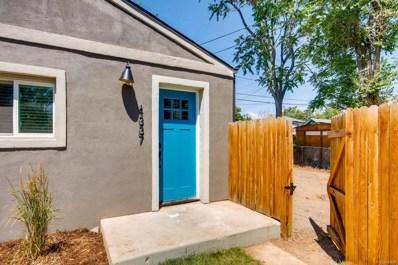 4337 Navajo Street, Denver, CO 80211 - MLS#: 1563640