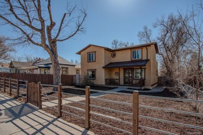 917 E Costilla Street, Colorado Springs, CO 80903 - MLS#: 1616142