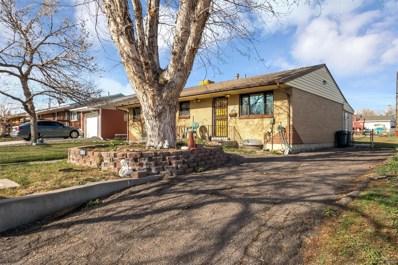 7590 Greenwood Boulevard, Denver, CO 80221 - MLS#: 1626393
