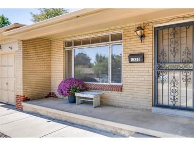 1325 S Depew Street, Lakewood, CO 80232 - MLS#: 1635262