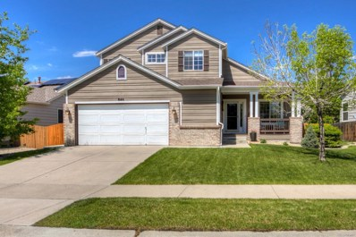 846 Shuttleworth Drive, Erie, CO 80516 - MLS#: 1645892