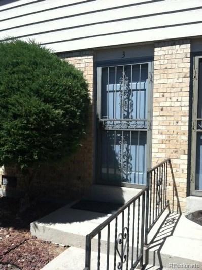 5230 Garrison Street UNIT 3, Arvada, CO 80002 - MLS#: 1673891