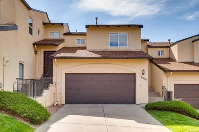 2623 Thrush Grove, Colorado Springs, CO 80920 - MLS#: 1674170