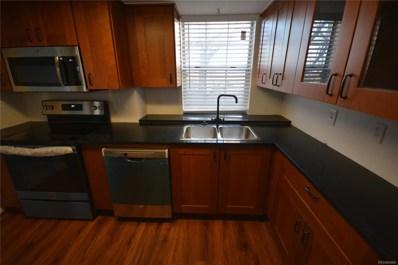 339 W Jamison Circle UNIT 16, Littleton, CO 80120 - MLS#: 1675341