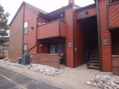 12055 E Harvard Avenue UNIT 101, Aurora, CO 80014 - MLS#: 1726321