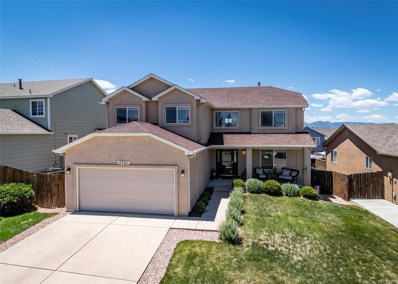 4750 Squirreltail Drive, Colorado Springs, CO 80920 - #: 1734993