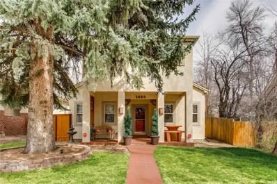 1250 Oneida Street, Denver, CO 80220 - #: 1760592