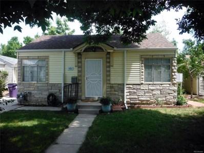430 Newton Street, Denver, CO 80204 - MLS#: 1789065