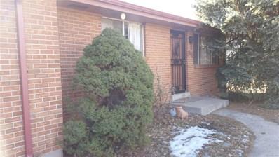 9022 W Washburn Place, Lakewood, CO 80227 - MLS#: 1807154