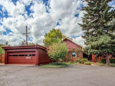 2631 S Jackson Street, Denver, CO 80210 - MLS#: 1828006