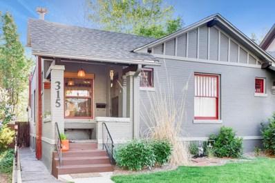 315 S Corona Street, Denver, CO 80209 - #: 1871908