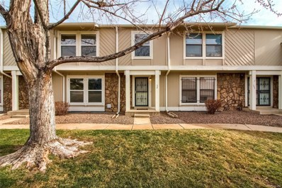 10371 E Evans Avenue UNIT 154, Aurora, CO 80247 - MLS#: 1874056