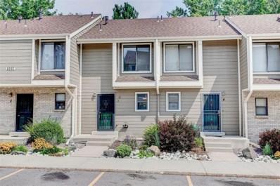 8767 W Cornell Avenue UNIT 3, Lakewood, CO 80227 - MLS#: 1883649