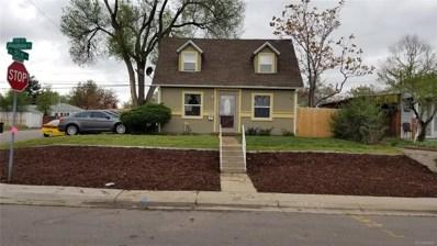 5101 Shoshone Street, Denver, CO 80221 - #: 1886588