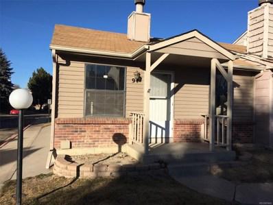 8248 Washington Street UNIT 94, Denver, CO 80229 - MLS#: 1911756
