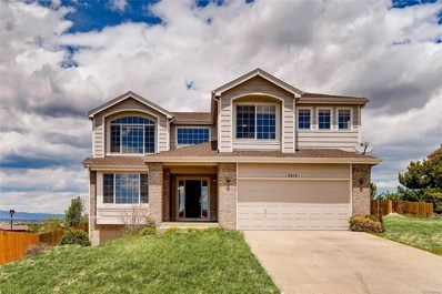 5414 Sunset Ridge Drive, Colorado Springs, CO 80917 - #: 1922491