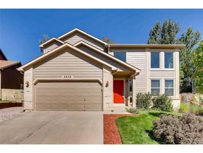 2959 Front Royal Drive, Colorado Springs, CO 80919 - MLS#: 1938533