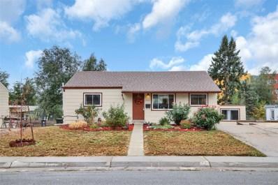 1562 W Hoye Place, Denver, CO 80223 - MLS#: 1949484