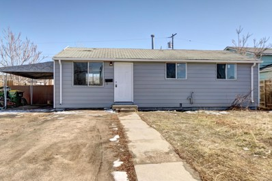 7750 Kimberly Street, Commerce City, CO 80022 - MLS#: 1959266