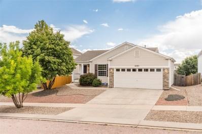 6585 Sonny Blue Drive, Colorado Springs, CO 80923 - MLS#: 2033002