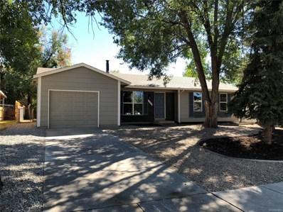 2503 Prescott Circle, Colorado Springs, CO 80916 - MLS#: 2033810
