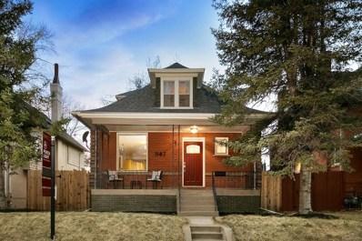 347 S Ogden Street, Denver, CO 80209 - #: 2109286