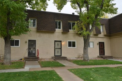 7755 E Quincy Avenue UNIT T52, Denver, CO 80237 - #: 2194829