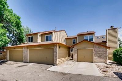 10500 W Fair Avenue UNIT D, Littleton, CO 80127 - MLS#: 2212537