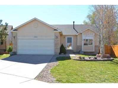 1635 Gumwood Drive, Colorado Springs, CO 80906 - MLS#: 2269616