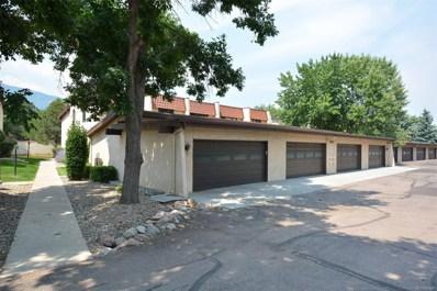 3123 Broadmoor Valley Road UNIT D, Colorado Springs, CO 80906 - MLS#: 2271094
